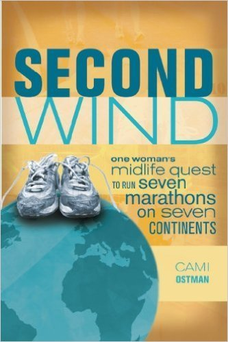 book cover for second wind, book by transformational life coach cami ostman